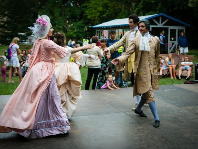 Polskie tańce na dworze króla i inne atrakcje dla dzieci