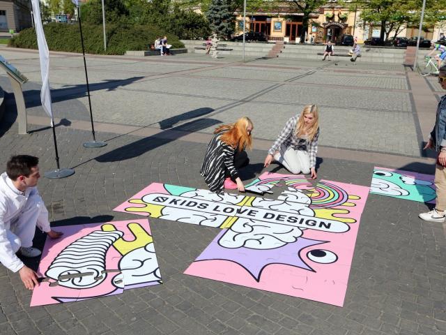 5 miejsc_5 zmysłów - czyli dizajnerska gra miejska!