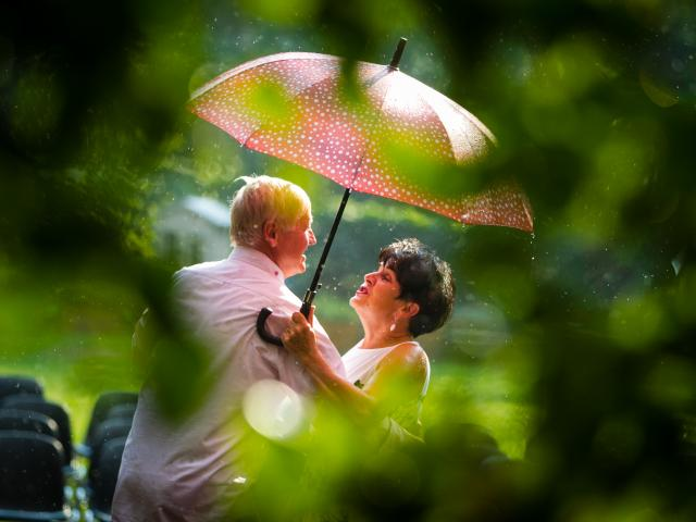 Deszczowa potańcówka, jazz i wróżki,  czyli weekend na Różance